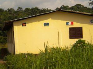 Bâtiment construit en coopération avec d'autres organismes