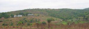 Vue générale du site de Loukanga